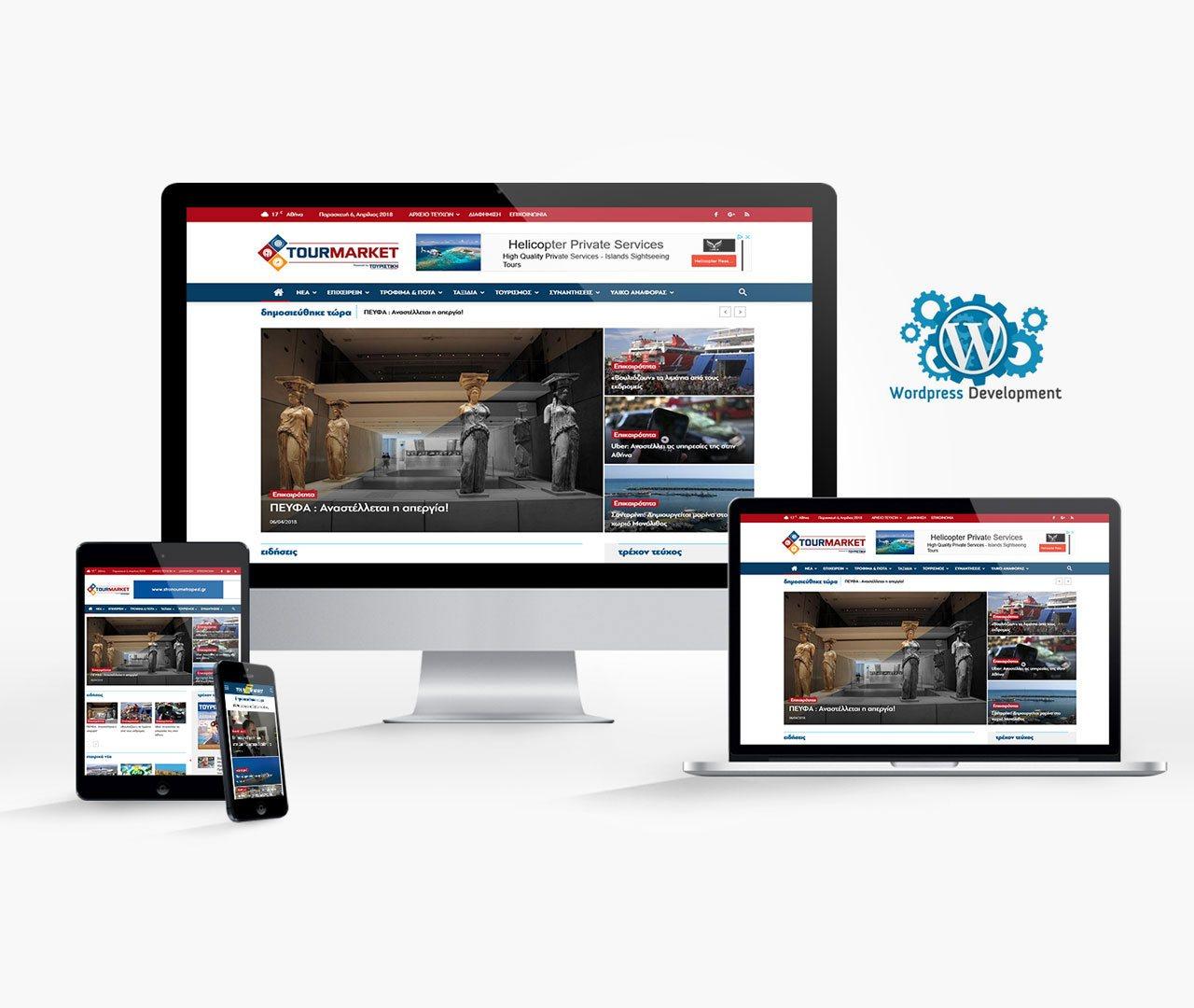 Tour-market Website