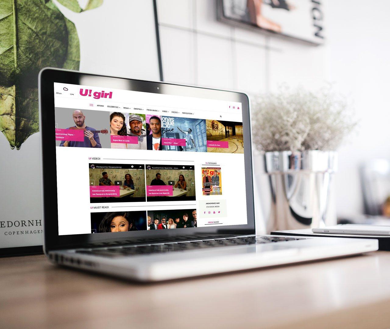U!girl Magazine Website