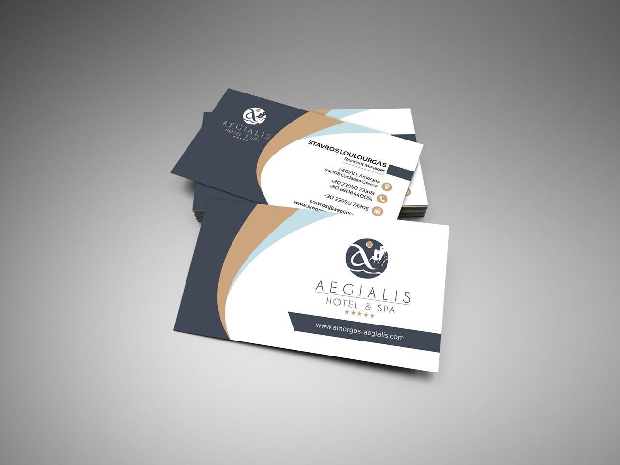 Aegialis Business card